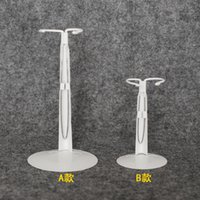 Wholesale Metal Scale Stand - 1 3 1 4 1 6 scale BJD Standing metal Bracket Card waist or Card legs doll accessories 16C0982