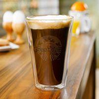 Wholesale Bodum Glasses - Wholesale-New 16 OZ Starbucks Bodum Bouble Wall Glass Beer Coffee Mugs And Cups Tea City 2Mug Lot Creative Drinkware Gift Free Shipping