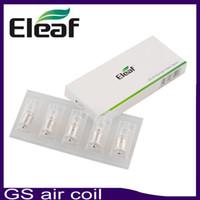 Wholesale Gs Atomizers - Eleaf GS-Air Coil Head 1.5ohm Special For GS Air Atomizer GS air coil Electronic Cigarette Coil 0266111