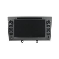 Wholesale mp3 player screen gray for sale - 7inch Car DVD player for Peugeot with GPS Steering Wheel Control Bluetooth Radio Andriod OS