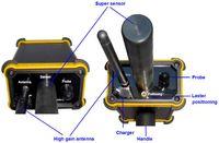 Wholesale Earth Metal Detector - New Black Hawk Metal Detector Long Range Diamond Gold Detectors Professional Underground Deep Earth precious stone gold detector