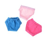 Wholesale Wholesale 18 Inch Doll Accessories - Cute underwear 2017 New Doll accessories, 6 colors of underwear for the 18 inch American girl doll accessories, the best gift