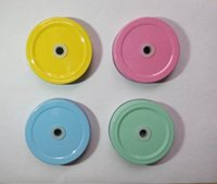 Wholesale Hole Metal Cover - Wholesale- 25pcs Daisy Cut Mason Jar Lids , mason jars and straws are NOT included ,Metal Kids Drinking glass Lids for Straws wholesale