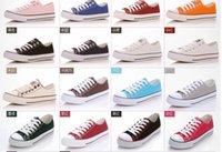 Wholesale Canvas Shoes Size 26 - 13 Color 26 style All Size 35-46 Low high Style high Style chuck Classic Canvas Shoe Sneakers Men Women sport Shoes Casual Shoes
