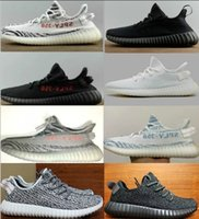 black white grey - 2017 New Boost Beluga Mesh blade v3 Sply V2 Cp9366 Cp9654 Zebra Cp9652 Breds Boost Running Shoes Sneaker