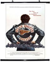 Wholesale Poster Panel - Free shipping 24x35 inch,hells angels,Poster HD HOME Hanging scroll Decor ART CANVAS printing -389
