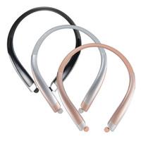 Wholesale iphone tones free resale online - New HBS1100 Tone Platunum HBS Wireless Collar Headset Support NFC Bluetooth HIFI Sports Hands free Headphone