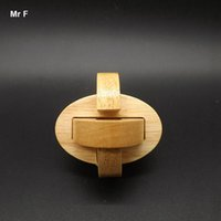 Wholesale Iq Puzzle Solutions - Ellipse Kongming Lock Toy Gadget IQ Puzzle Solutions Game Creative Gifts Christmas Teaching Aids Educational Toy