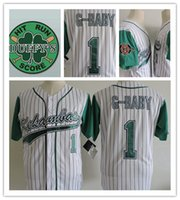 Wholesale Baby Patches - Youth Stitched The Hardball film Kekambas Baseball Jerseys Kids boys #1 Jarius G-Baby Evans Jersey Includes ARCHA Duffys Patch S-2XL