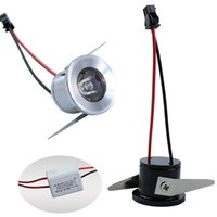 Wholesale Led Mini Ligh - 12V 85-265V 1W 3W Mini LED downlights LED ceiling ligh with Cree high power LED chip