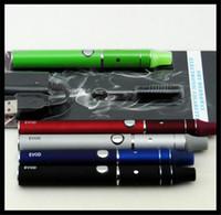 Wholesale Ego Kit Best Seller - 510 ego dry herb vape pen vaporizer e cigarette mini ago wax dry herb smoking pen starter kit blister set 650mah best seller