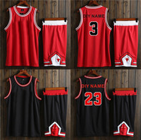 Wholesale Top Brand Name Wholesale - WADE BUTLER Basketball training suit no brand no logo basketball sets ,customized your number and name,top quality baskrtball sports suits
