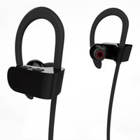 Wholesale Bluetooth Earphones For Cellphones - Stereo bluetooth in earphone wireless CSR 4.1 with mic jogging binaural headset hanging DSP noise reduction headphone for cellphone