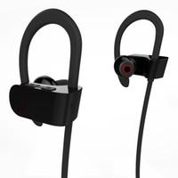 csr usb toptan satış-Stereo bluetooth kulaklık kablosuz CSR 4.1 mic ile jogging binoral kulaklık asılı DSP gürültü azaltma kulaklık cep telefonu için