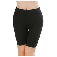 Wholesale Ladies Underpants Sizes - Wholesale- Hot Sale Ladies Knee-Length Short Leggings Under Skirts, Comfortable Lightweight Bamboo Underpants for Summer 3 Sizes