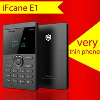 Wholesale Chinese Model Men - New iFcane E1 ultra-thin children's students small card phone mini-pocket straight men and women models spare machine