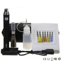 ingrosso evod prezzo elettronico della sigaretta-CE4 evod Starter Kit Electronic Cigarette Zipper Case Kit singolo E-Sigaretta 650mah 900mah 1100mAh Batteria miglior prezzo CE4 atomizzatore vaporizzatore