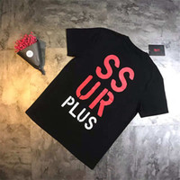 ssur clothing - New Style The West Coast SSUR Tees Man And Women T Shirt Basic Summer Clothing Limited Hip Hop Breathable Short Sleeve