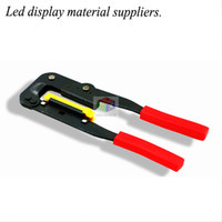 Wholesale Wire Strip Tool - Led display advertising screen 16P cable production tools pressure line clamp pliers wire stripping pliers