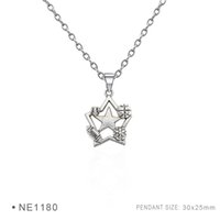 Wholesale Football Charms Metal Pendants - Antique Silver Plated Sea Urchin Star Football Soccer Basketball Charm pendants Chain Birthday Gifts Women Platinum Metal Necklaces