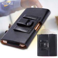 Wholesale 4s Belt Clip Wallets - 4.7inch Universal Belt Clip Leather Case For iPhone 6 6s 5 5S SE 4 4S Classic Cool Black PU Wallet Leisure Phone Cover