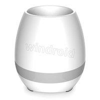 Wholesale Big Plastic Plant Pots - Creative Hot Music Vase Smart Music Flower pot Wireless Bluetooth Speaker K3 Intelligent Plant Piano Music with Colorful LED Night Light