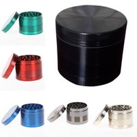 Wholesale space case grinder wholesale online - Space Case Grinders mm Herb Grinder Piece Tobacco Grinders With Triangle Scraper Aluminium Alloy Material Herb Spice Crusher Grinder Who