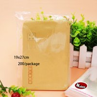 Wholesale Self Adhesive Bags 27cm - 19*27cm Transparent plastic sealing bag accessories bag Clothes, Magazines, Food Packaging Self-adhesive Bag. Spot 200   package