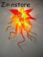 art déco arandela luminárias venda por atacado-Criativo Wall Art Pequeno Quarto Abajur LED Mão Soprado Murnao Luminária de Parede de Vidro Aplique de Parede Arandela