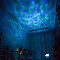Amazing romantico colorato Aurora Sky Holiday Gift Cosmos Proiettore LED Sky Projector LED Starry Night Light Proiettore Ocean Wave