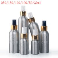 Wholesale Metal Sprayer - empty Aluminum spray containers with pump,perfume Metal bottle, Essential Oil Bottle with aluminum mist sprayer pump for perfume