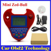 Wholesale Transponder Chevrolet - 2016 Newly Super Smart MINI Zed Bull Auto Key Programmer Small Zed-Bull Transponder Key MINI ZEDBULL Multi-Language Free Shipping
