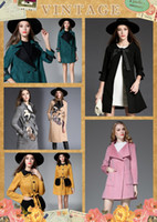 Wholesale Women S Trench Coat Pattern - Wholesales winter trench coat for Europen and American 5 style hot selling all kinds of long deerskin trench coat