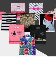 alışveriş moda mücevherleri toptan satış-20 * 26 cm küçük plastik ambalaj hediye çantası torbalar, moda promosyon ambalaj çanta çanta, promosyon alışveriş takı çantası karışık lot