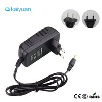 Wholesale Power Supply Adapter Converter - EU US Plug Led Power Adapter AC100-240V To DC12V Charger 2A 3A Switching Power Supply Converter For SMD5050 3528 5630 RGB Led Tape Strips