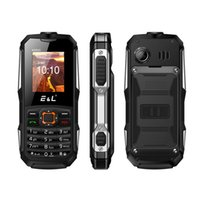 Wholesale Gsm Waterproof Rugged - E&L K6900 cellphone GSM WCDMA IP68 waterproof 2000mAh 3G Dual SIM Waterproof Camera Rugged Phone Bluetooth FM Radio up to 8GB TF Card