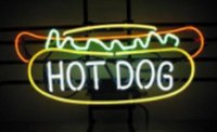 Wholesale Red Dog Sign - New Hot Dog Beer Handicrafted Real Glass Tube Neon Light Beer Lager Bar Pub Sign Multiple Size 17*14