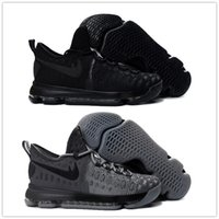 Wholesale Cheap Kd Free Shipping - Hot KD 9 Wolf Grey knight Men's Basketball Shoes for Cheap Sale Kevin Durant 9s Bounce Airs Cushion Sports Sneakers Size 7-12 Free Shipping