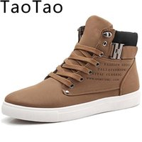 Wholesale Sports Skin Shoes - Wholesale-Men Shoes 2016 Top New Winter Fashion Lace-Up Front Ankle Boots Casual Autumn Sport Cunha Skin Proof D 'water Hot Leather D086