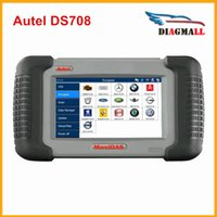 Wholesale Autel Ds - 2016 100% Original Autel MAXIDAS DS708 Scanner Update Online AUTEL DS 708 Multi-Language DHL Free Shipping