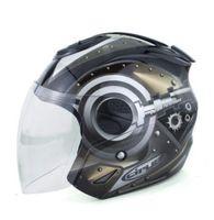 Wholesale new helmet summer - Wholesale- Free shipping 2016 new ShunJing motorcycle helmets vintage Scooter helmet summer electric bicycle half helmets men and women