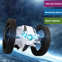 Wholesale Wheels For Toy Cars - RH803 2.4GHz RC Bounce Car Shock Resistance Flexible Wheels Speed Switch RC car toys for children Kids