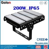 Wholesale pizza factory - Wholesale- Business industrial led lights Led Pizza Tray Light 200w for factory warehouse sport courts parking lot garage free shipping