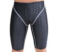 Wholesale spandex skin suit - Shark Skin Swimwear Men Shorts swimsuit Competitive Bathing suit Competition Trunk Waterproof Beach Tight Briefs Plus Size