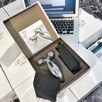 Wholesale MTG ReFa CARAT PEC L1706 Platinum Electronic Roller Japan Model New Personal Face Full Body Massager Beauty Equipment Lines Wrinkles gift