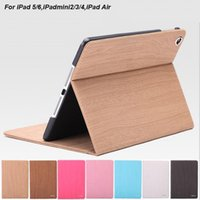 Wholesale Ipadmini Stand - 2017 New Designed For iPadmini Stand Case PC and PU Leather Materials Fashion Full Cover Seven Colors Style For iPadmini4 Free Shipping