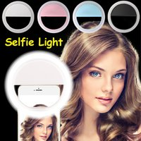 Wholesale Photography Led Light New - New Selfie Ring Light Portable Flash Led Camera Phone Photography Enhancing Photography For Smartphone iPhone Samsung
