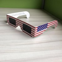 Wholesale Plastic Solar Eclipse Glass a pack Cool Style Adult Size Safe and Easily to Use S152