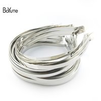 metal hairband accessories - BoYuTe Metal Stainless Steel Hair Band Width MM MM MM MM MM MM MM MM Hairband for Women Diy Hair Accessories