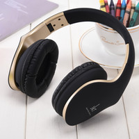 Wholesale over ear headphones yellow - JKR-102 Wired Earphones DJ Headphone Headset Over Ear Noise Cancelling Folding Headphone with Mic For Cell Phone Computer MP3 MP4